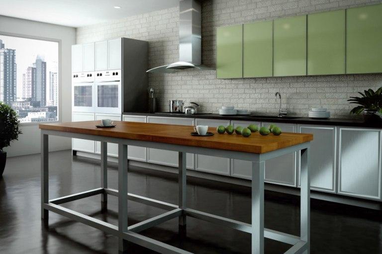 Kitchen cabinets bathroom cabinets kitchen remodel - New metal kitchen cabinets ...