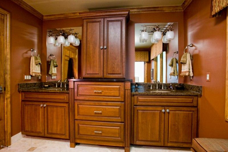 Remodel bathroom cabinets