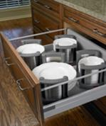 tandem drawer with plate holders
