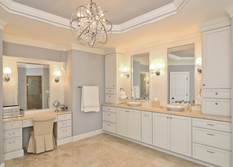 Remodeling your bathroom bathroom cabinets coral - Small bathroom remodel with tub ...